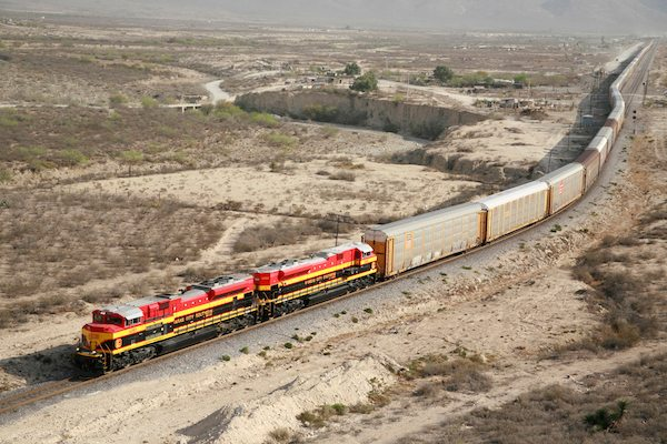 Kansas City Southern Railroad On Track To Mexico