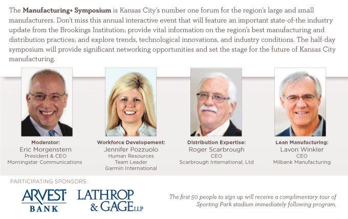 Manufacturing Symposium in KC   Scarbrough International