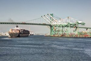 Shipping Industry Port of Los Angeles