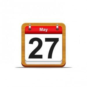 May 27.