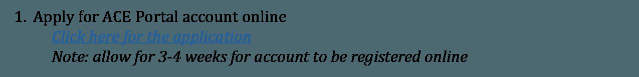 ACE Website step1