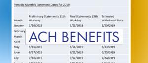 CBP ACH benefits