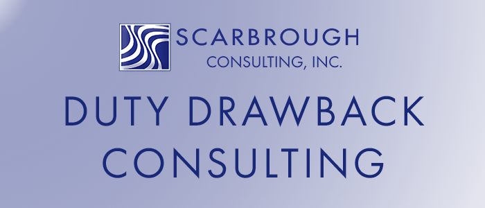 Duty Drawback Consulting
