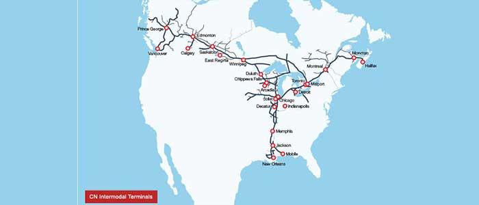 CN Rail blockade