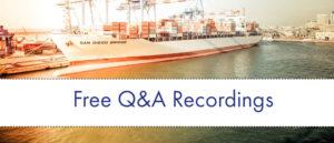 international trade recording
