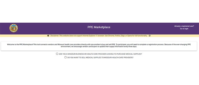 PPE Marketplace