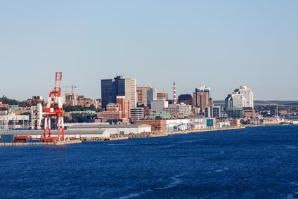 Halifax From the Sea