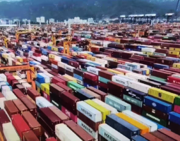 Chinese Ports Descend into Congestion Chaos Amid Lunar New Year