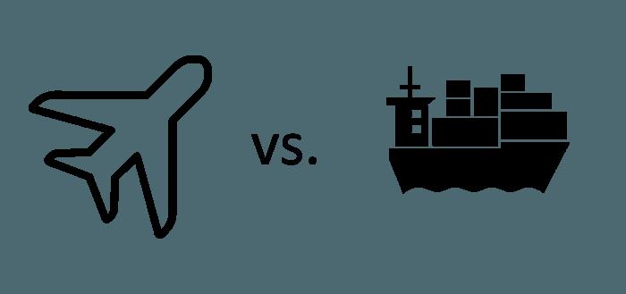 air freight ocean freight