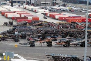 ITS Terminal. Activity. On dock rail.  2012. Kline