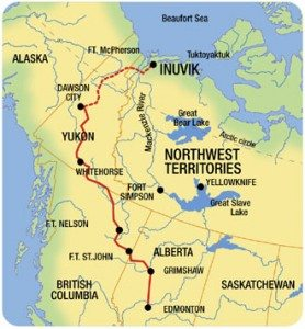 dempster-highway-map