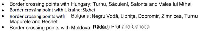 COVID-19 Romania Shipping Update
