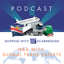 Shipping with scarbrough podcast logo