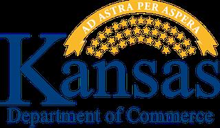 Kansas Department of Commerce logo.