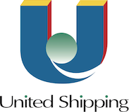 United Shipping logo.