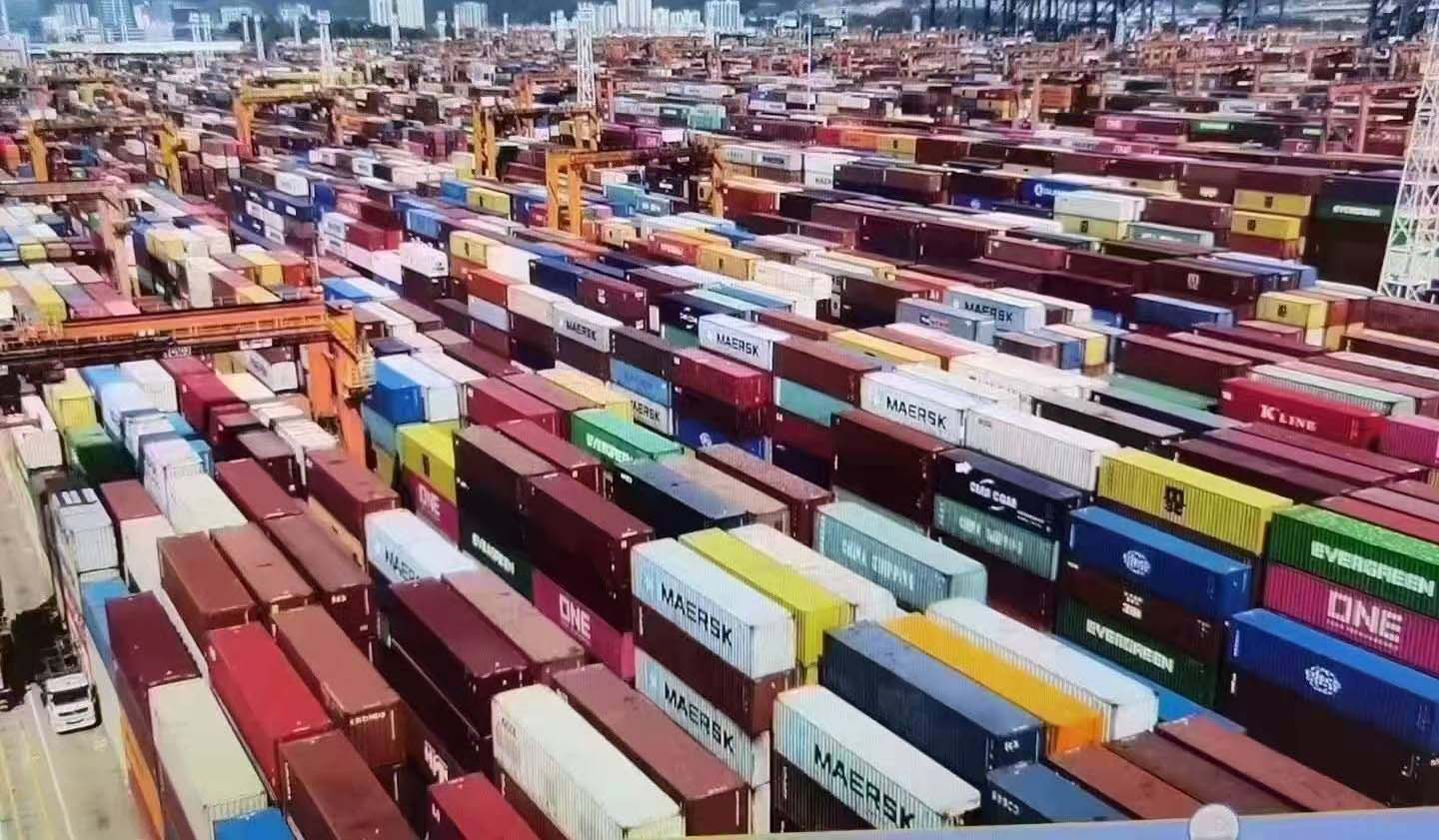 Containers at Port of Yantian