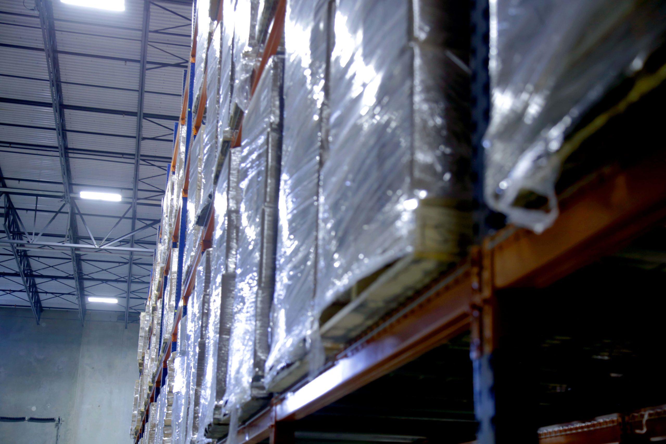 Interior Scarbrough Warehousing facility